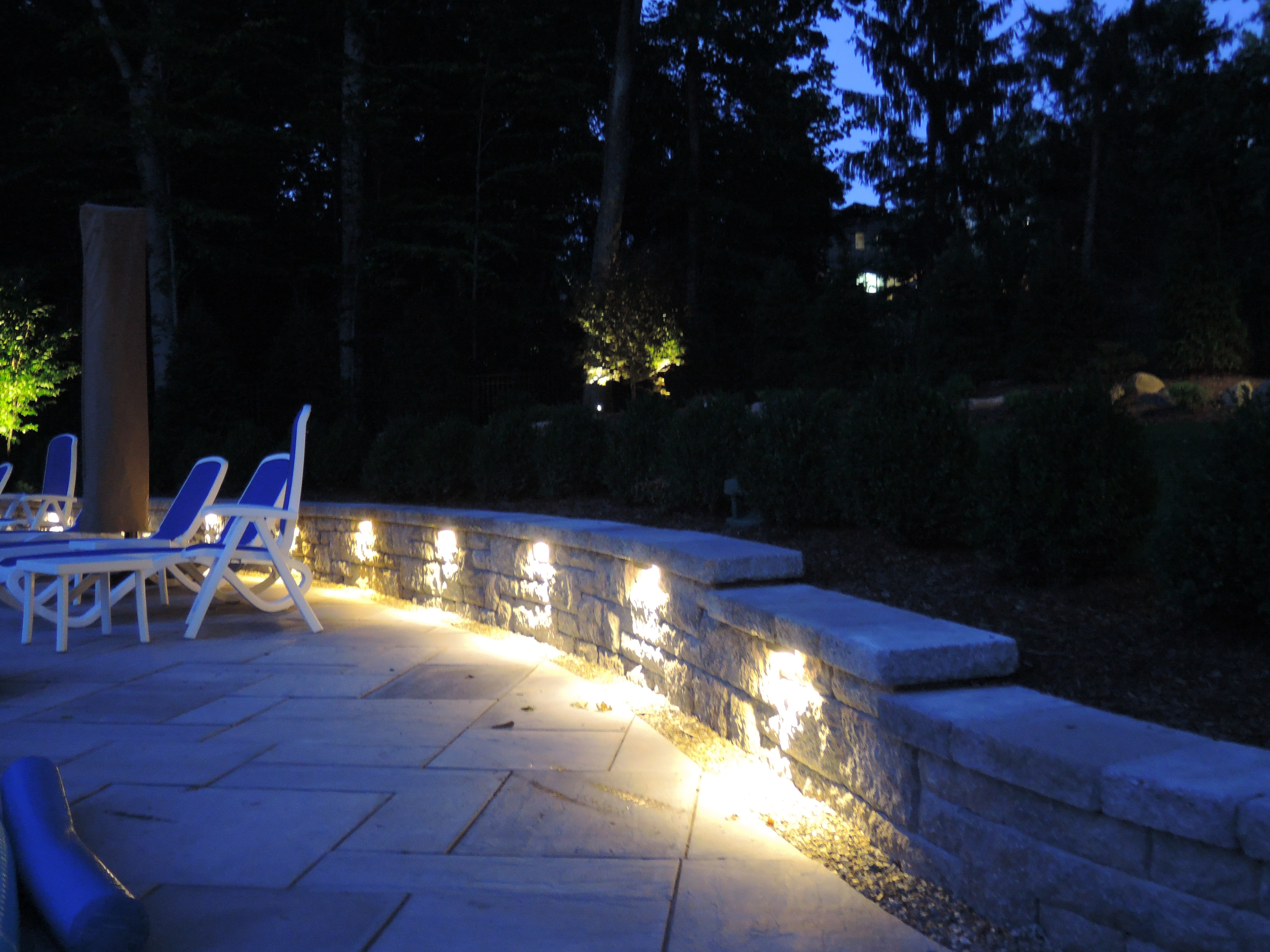 japanese outdoor lighting. Japanese Outdoor Lighting. Adding Up Lighting To Porch Columns Creates A Look Of Grandeur.