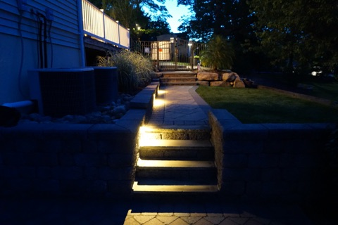 Our years of experience and professionalism shows in our quality installation of outdoor landscape lighting