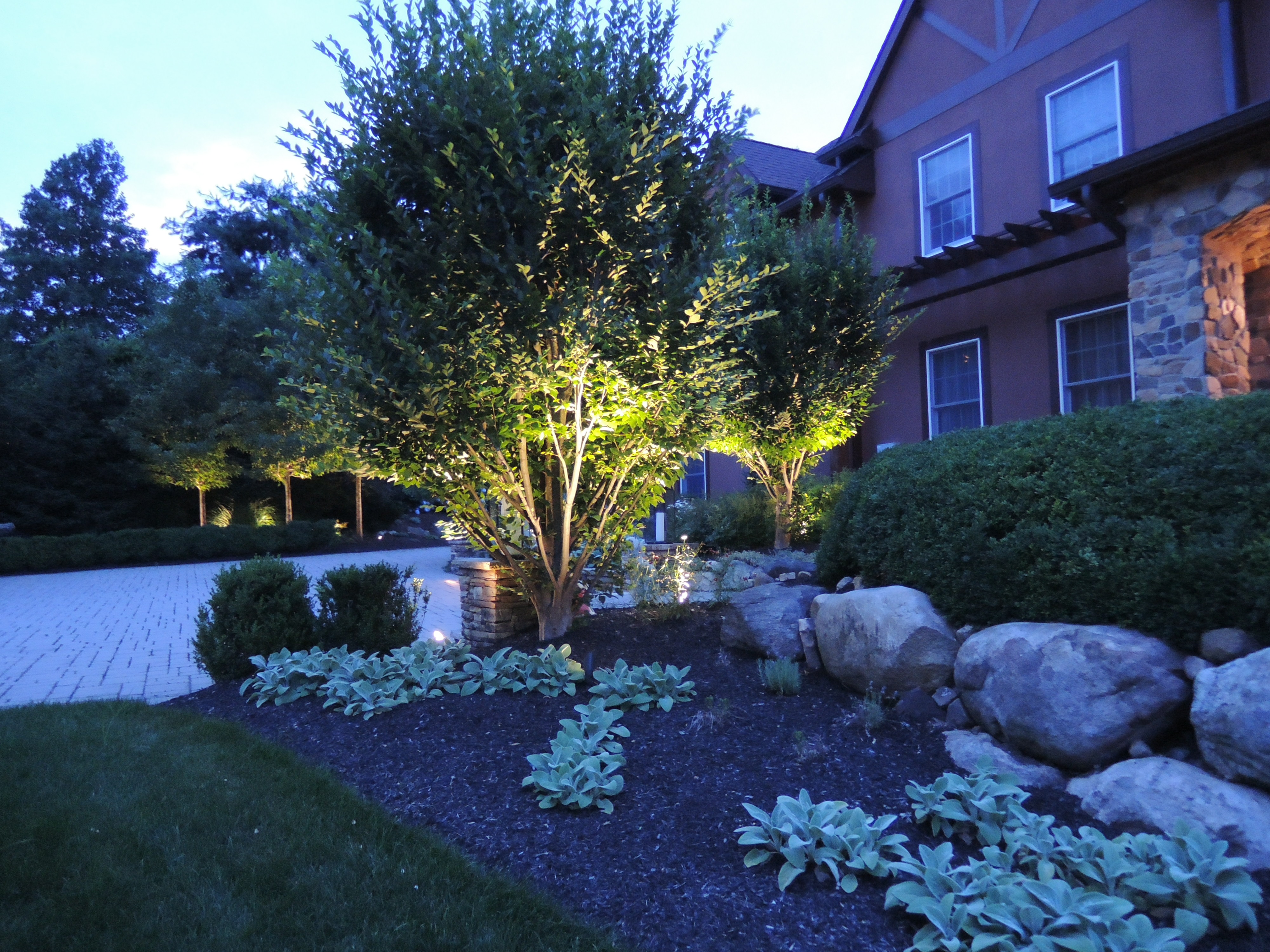 Spring landscape lighting repair garden state irrigation and lighting here are a few questions to ask yourself when thinking about landscape lighting aloadofball Image collections