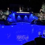 ZDC BLUE POOL LIGHTING