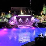 ZDC PINKPURPLE POOL LIGHTS