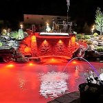 ZDC RED POOL LIGHTS